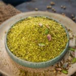 Egyptian Pistachio Dukkah Seasoning is spice blend that is delicious combination roasted and ground nuts, spices and seeds. Here is how to make it.