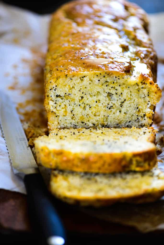Loaded with tangy sweet citrusy flavor, and strong poppy seed component, this Lemon Poppy Seed Bread is a must make recipe.