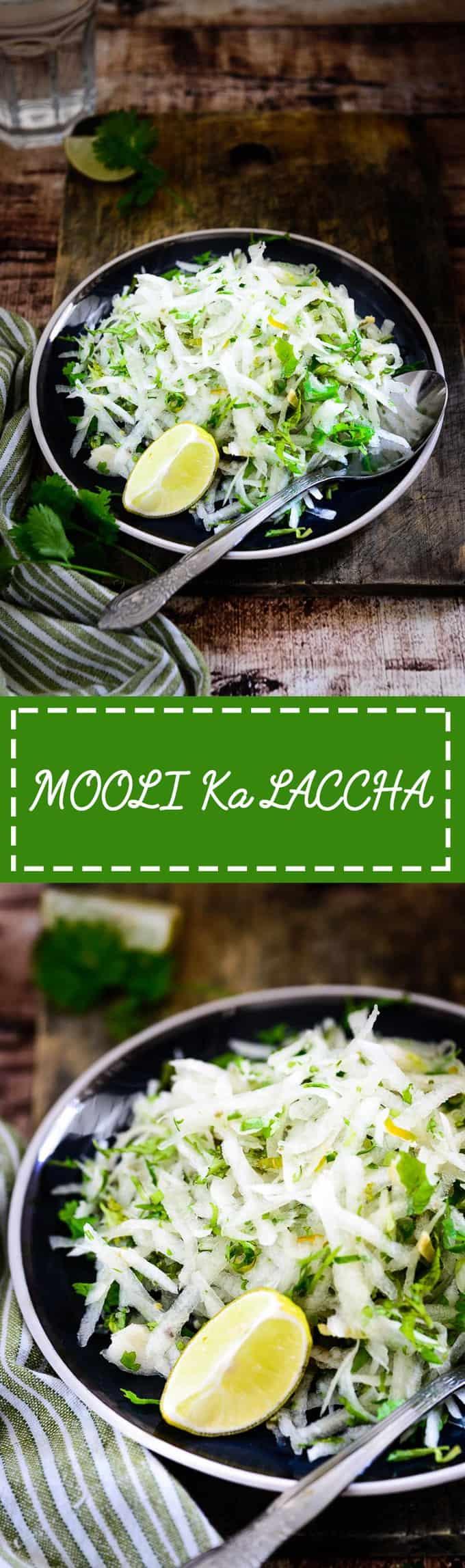 Mooli Ka Laccha