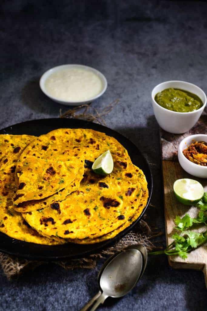 Pumpkin Paratha / Kaddu Ka paratha