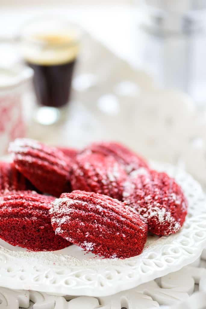 Red Velvet Madeleines