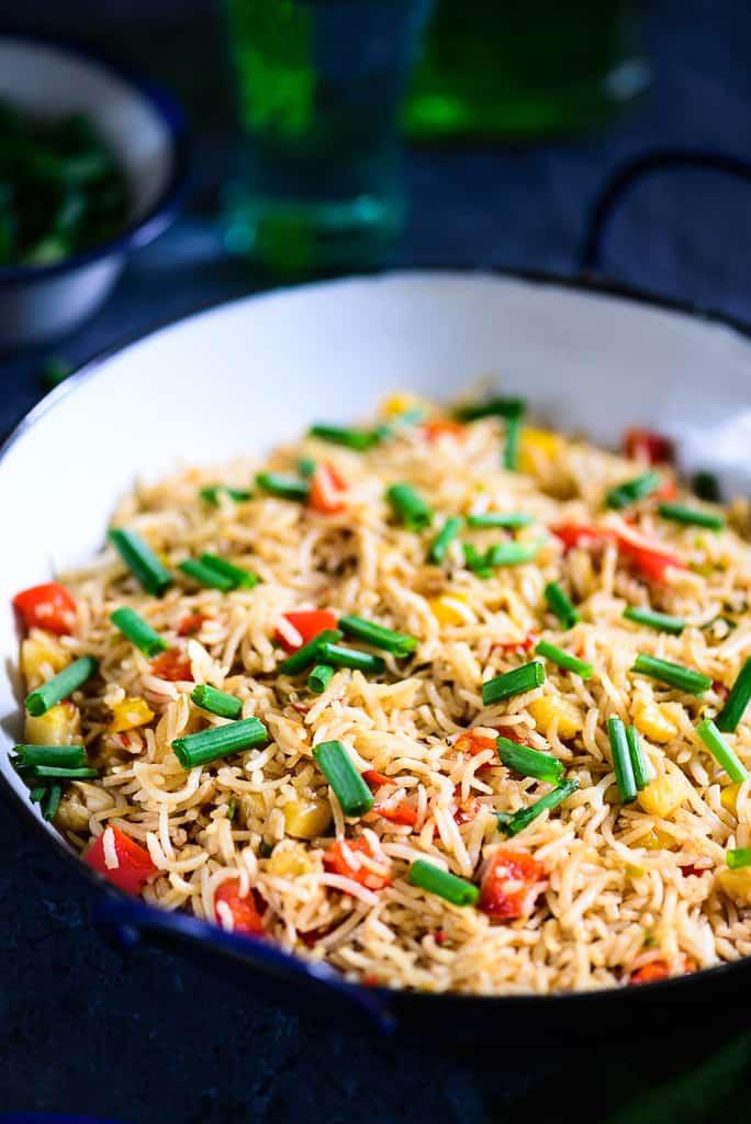how to make thai rice