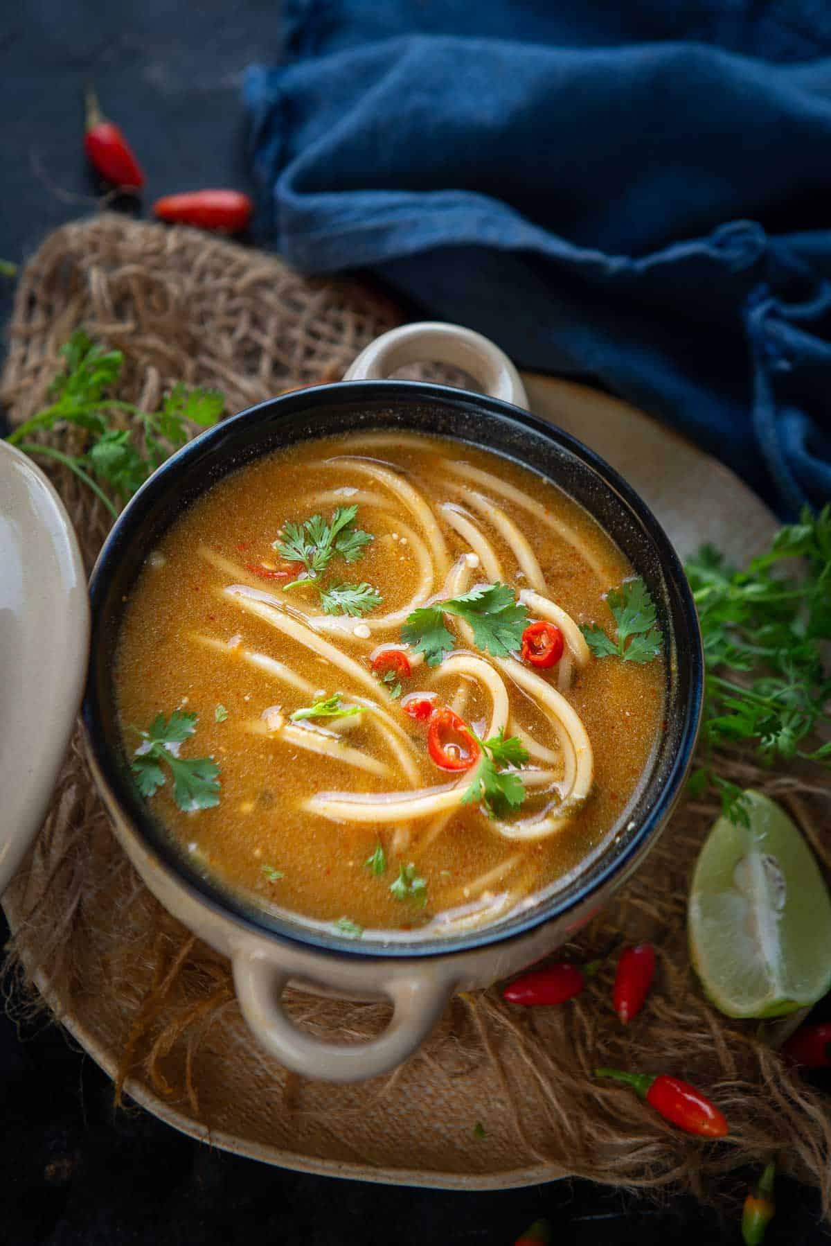 Thai Pumpkin Noodle Soup Recipe