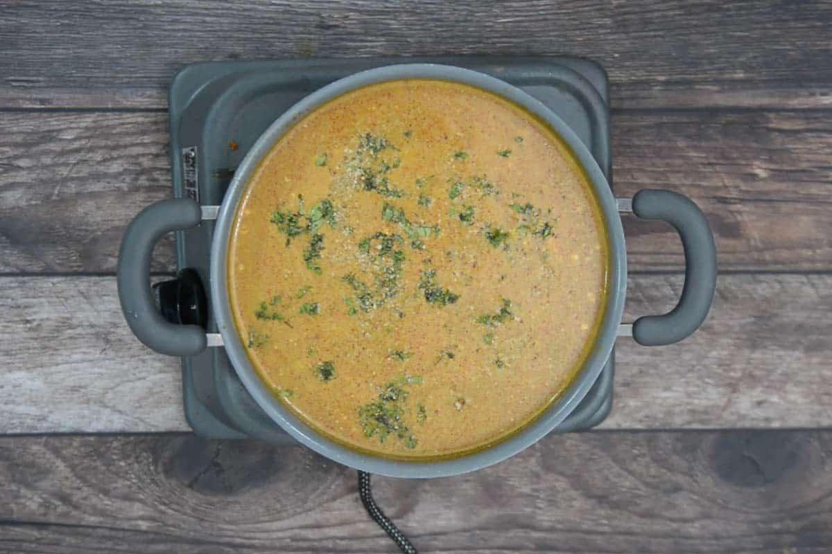 Ready Thai Pumpkin Noodle Soup.