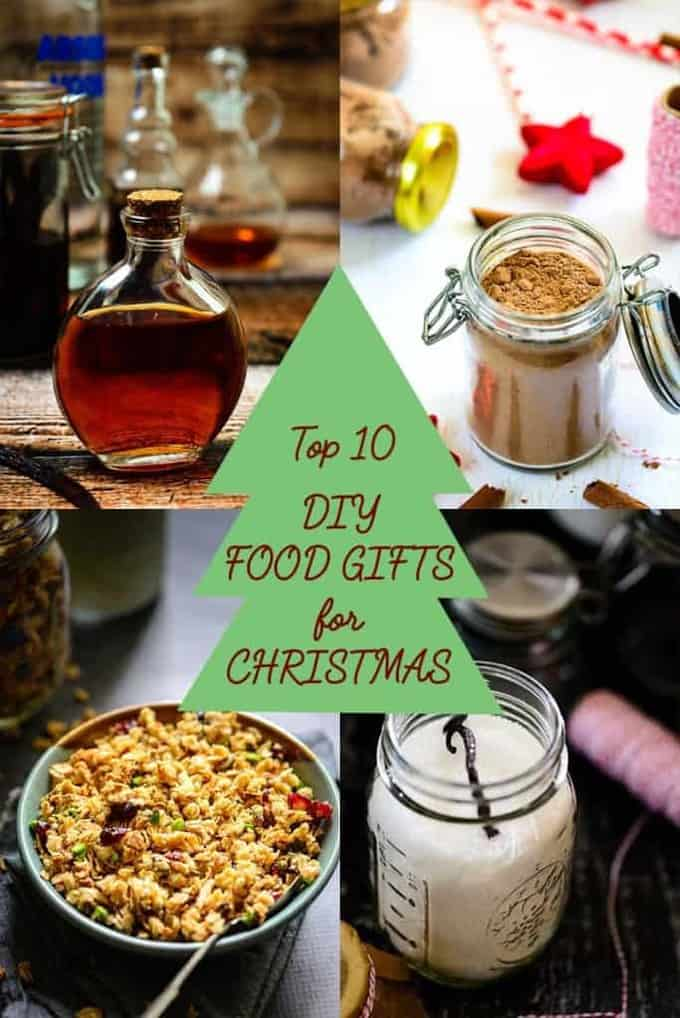 Top 10 DIY Food Gifts For Christmas