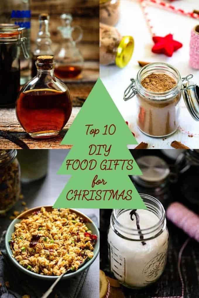 Top 10 DIY Food Gifts For Christmas