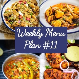 Weekly Menu Plan for the Week of 14th Dec