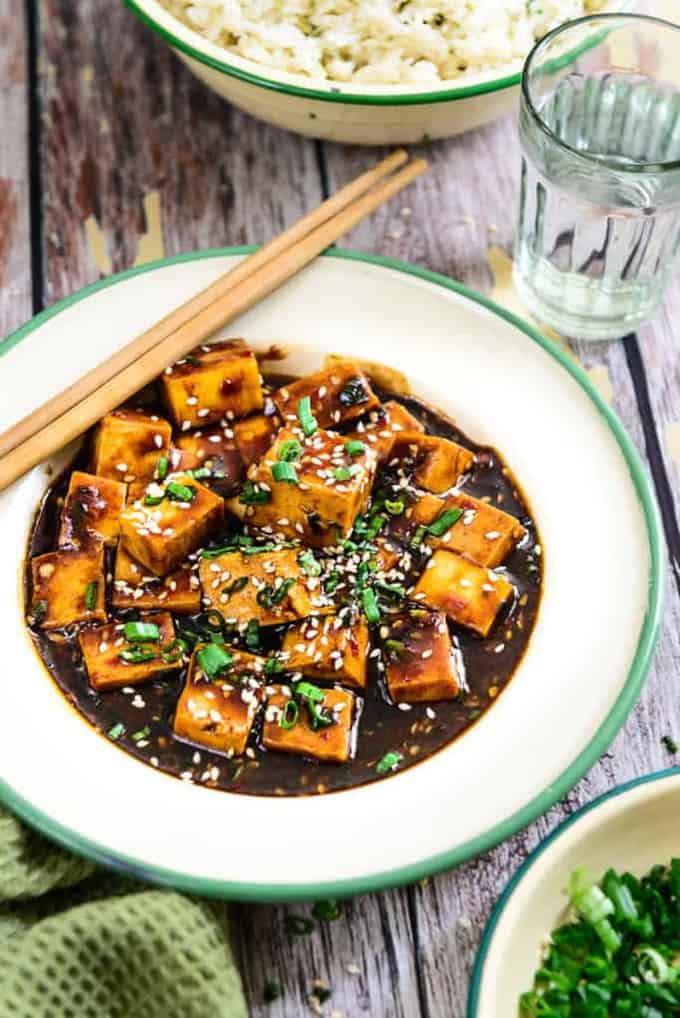 Garlic Tofu