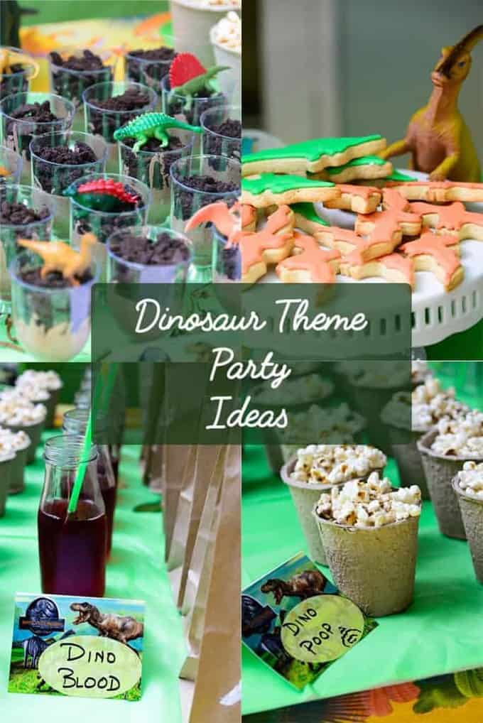 Dinosaur Theme Party For My 10 Year Old