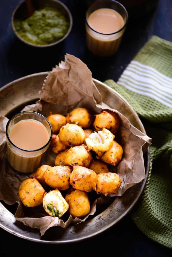 Mangalore Bonda Recipe, How to make Mangalore Bonda or Goli Baje