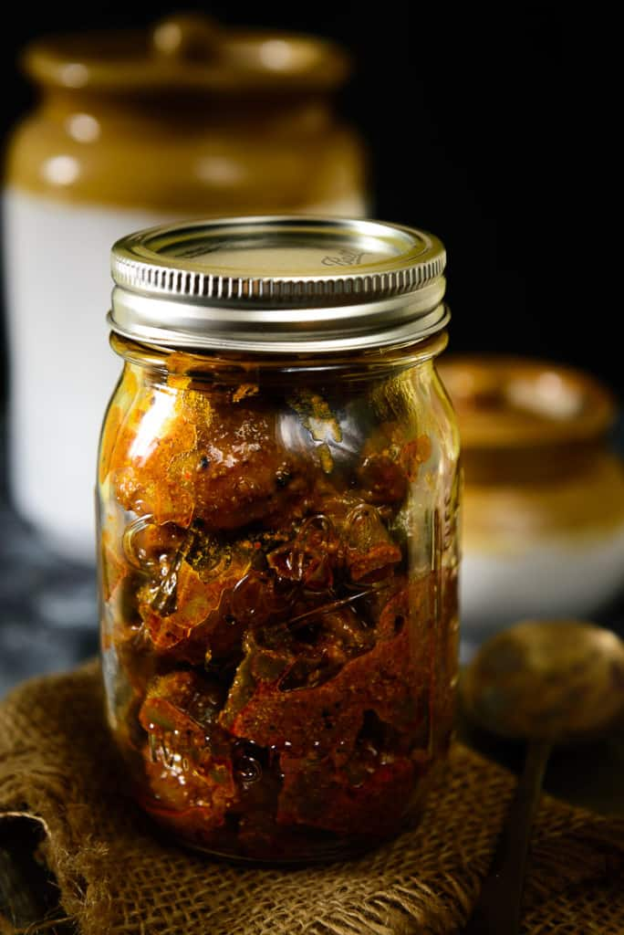 Nimbu Mirch Ka Achar uses the common ingredient of nimbu or lime and green chillies for a tangy spicy pickle that will add much flavor and taste to your daily meals.