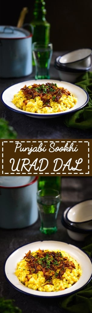 Punjabi Sookhi Urad KI Dal