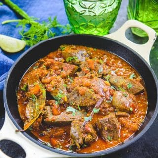 Kaleji Masala Recipe ( Mutton Liver Masala )