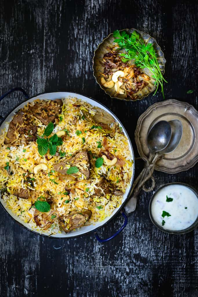 An unusual biryani that not many might have heard of, Kathal Biryani or Raw Jackfruit Biryani is made using raw jackfruit cooked with a variety of spices.