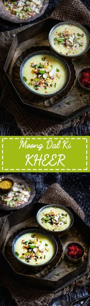 Moong Dal Ki Kheer