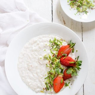 Overnight Oats in Coconut Milk are an easy, quick way of having your fill of this wonderful fiber. Add to this some fruits like raspberry or strawberries and even dry fruits if required, and you have a breakfast that will last you through the better part of a day.