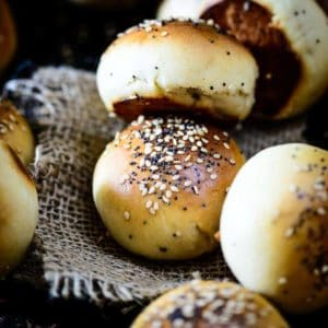 Slider Buns are grab and eat mini hamburger bun which are soft, moist and can be loaded with any kind of filling.
