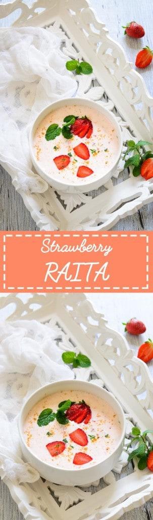 Strawberry Raita