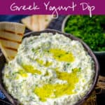 Creamy, rich, thick and white,Tzatziki Sauce is a traditional Greek dip which is made using thick and creamy yogurt, herbs and cucumber. Here is how to make easy homemade Tzatziki Recipe.. #Greek #MiddleEastern #Mediterranean #Tzatziki #TzatzikiSauce #Traditional #Authentic #Easy #Best #Homemade 3Greek #Healthy #PartyDip #SourCream #GreekYogurt #Cucumber #TzatzikiDip