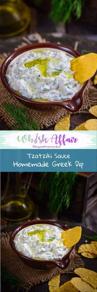 Creamy, rich, thick and white,Tzatziki Sauce is not your regular sauce. This Greek sauce is usually served in Greek gyro sandwiches. #Greek #MiddleEastern #Mediterranean