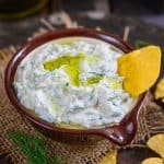 Creamy, rich, thick and white,Tzatziki Sauce is not your regular sauce. This Greek sauce is usually served in Greek gyro sandwiches.