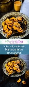 Bhakarwadi Recipe is a Maharashtrian speciality, stuffed with different spices, steamed and then deep-fried and best prepared for tea time snacks. #TeaTimeSnack #IndianSnacks #DrySnacks #DiwaliRecipes #DiwaliSnacks #MaharashtrianRecipes