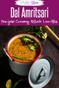 Dal Amritsari is a thick, healthy, protein rich gravy that tastes great and gives nourishment for hours. It can be eaten with rice or naan. Here is how to make it. #Indian #Lentil #Healthy #Vegetarian #Recipes