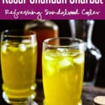 Kesar Chandan Sharbat is a soothing drink made from Kesar (Saffron) and Chandan (Sandalwood) powder.The flavor of Kesar,Chandan make a delicious concoction. Here is how to make it. #Indian #Drink #Beverage #Sharbat #Sherbet