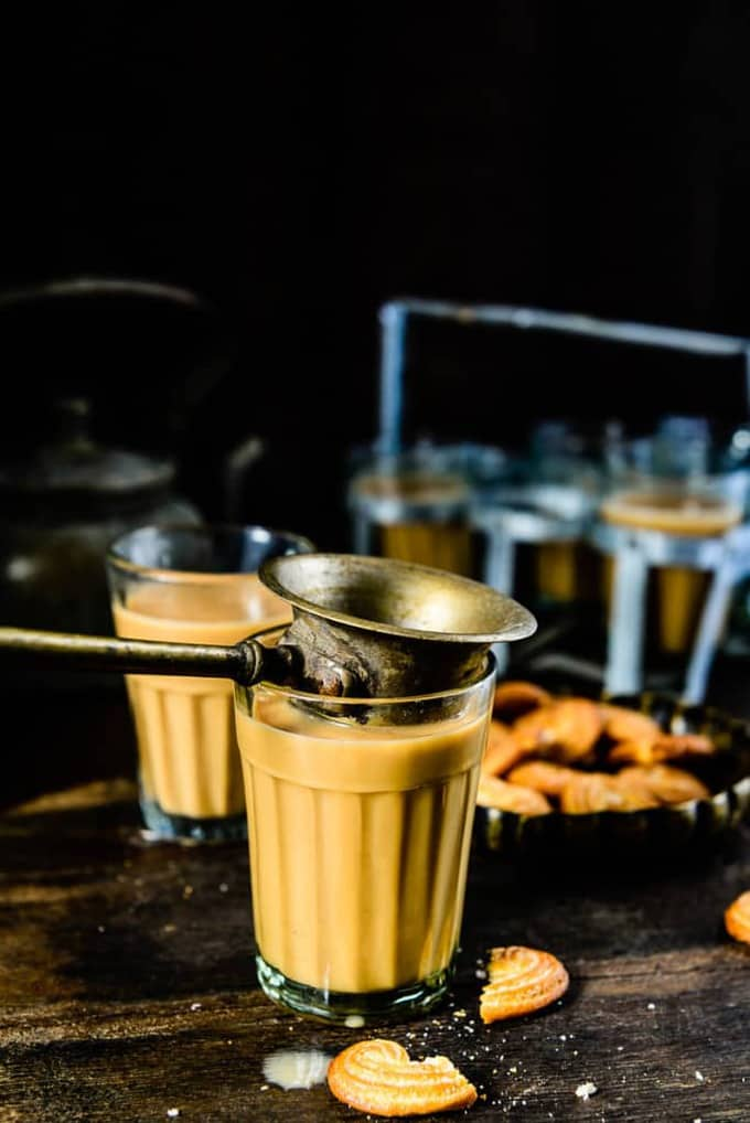 Ginger tea recipe or Adrak wali chai is a must have beverage in most Indian household .