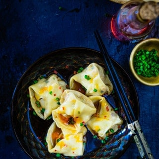 Chicken Wontons in Chili Broth is a delicious Chinese main course option. make it this week and enjoy with family and friends.