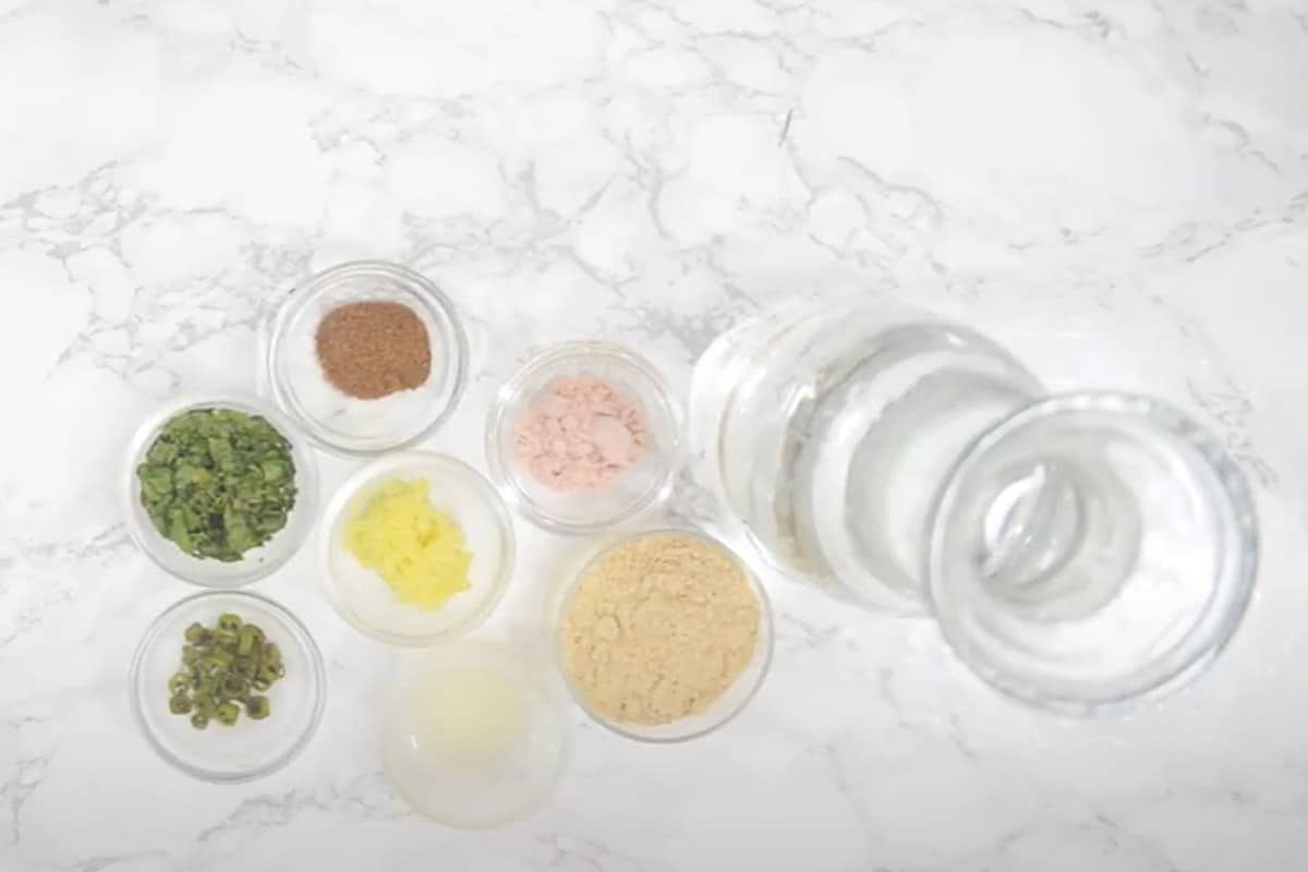 Sattu Drink Ingredients