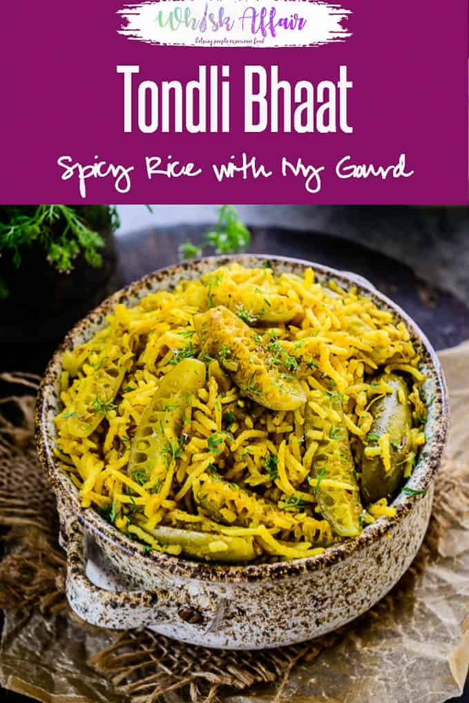 Crafted by using fresh, green Tendli and long rice, Tendli Masale Bhaat is a treat for taste buds. It tastes absolutely heavenly with a dollop of ghee. Here is how to make it. #Maharashtrian #Indian #Rice #Maincourse #IVYGourd