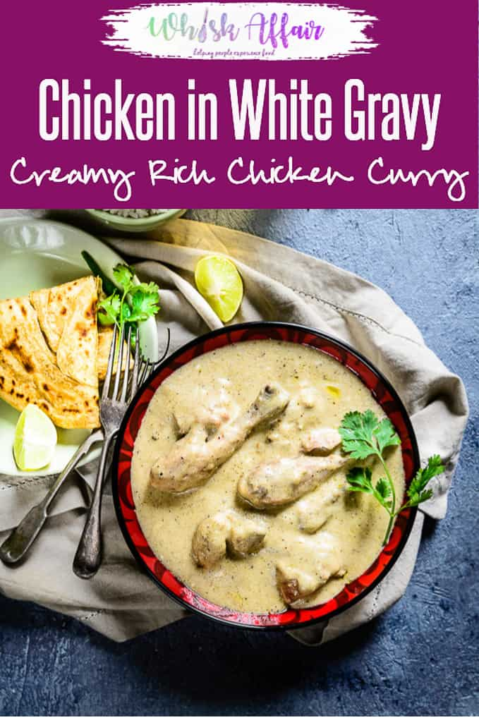Considered to be one of the must try curries of India, Safed Murg Korma is primarily prepared with cashew nuts, poppy seeds, milk, ghee and yogurt. Here is how to make chicken in white gravy. #Indian #Chicken #Curry