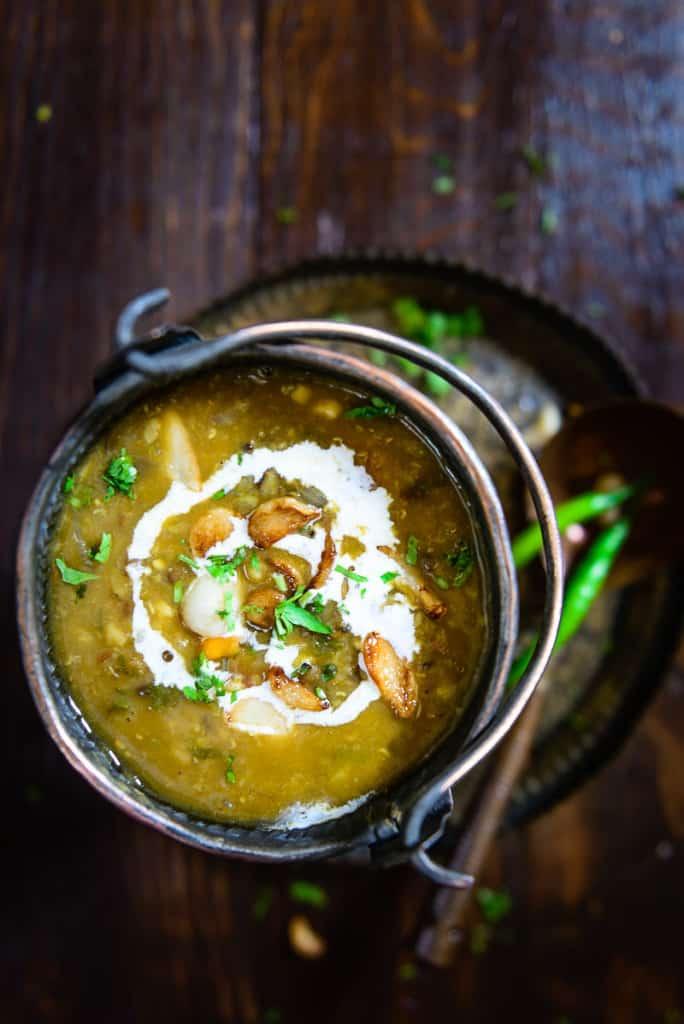 Navratan Dal ( Mixed Spicy Lentils )