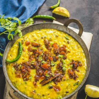 Navratan Dal ( Mixed Spicy Lentils )