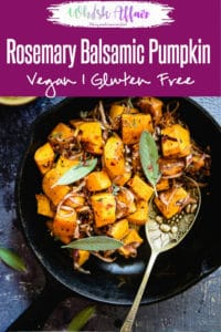 Ideal to be eaten as a starter or during supper, Rosemary and Balsamic Glazed Pumpkin is an utter luxury for the taste buds. Here is a simple recipe to make it. #Pumpkin #Recipe #Side