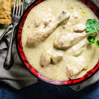 Safed Murg Korma / Chicken in White Gravy