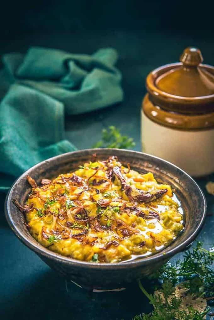 Vegetable Oats Khichdi Recipe using TTK Prestige Clip On Pressure Cooker