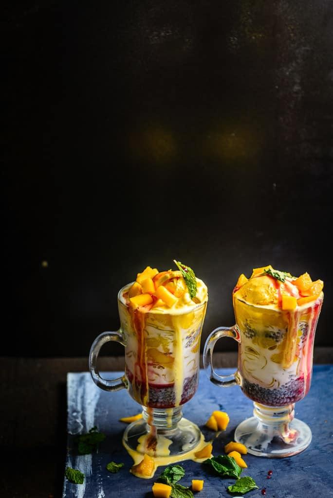 Mango Falooda Recipe, How to make Mango Falooda at Home – Video Recipe
