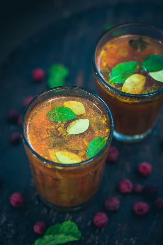 Phalse Tamatar ka Shorba is a delicious rasam kind of a drink made with tart Indian berries Phalse or Phalsa. Here is how to make it.
