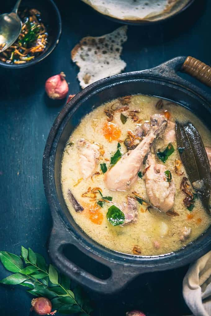 Kerala Style Chicken Stew Recipe How To Make Kerala Style Chicken Stew Whisk Affair