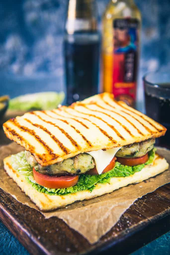 Mushroom Sandwich with Paneer Base Recipe For Better Homes and Gardens India