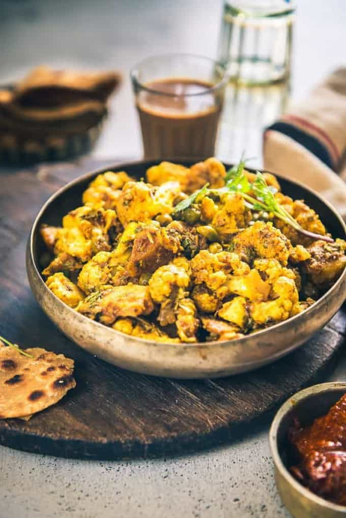 Aloo Matar Gobi Recipe, How to make Aloo Matar Gobi
