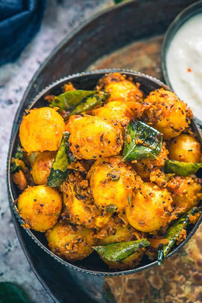 Bombay Potato Recipe, How to make Bombay Potato