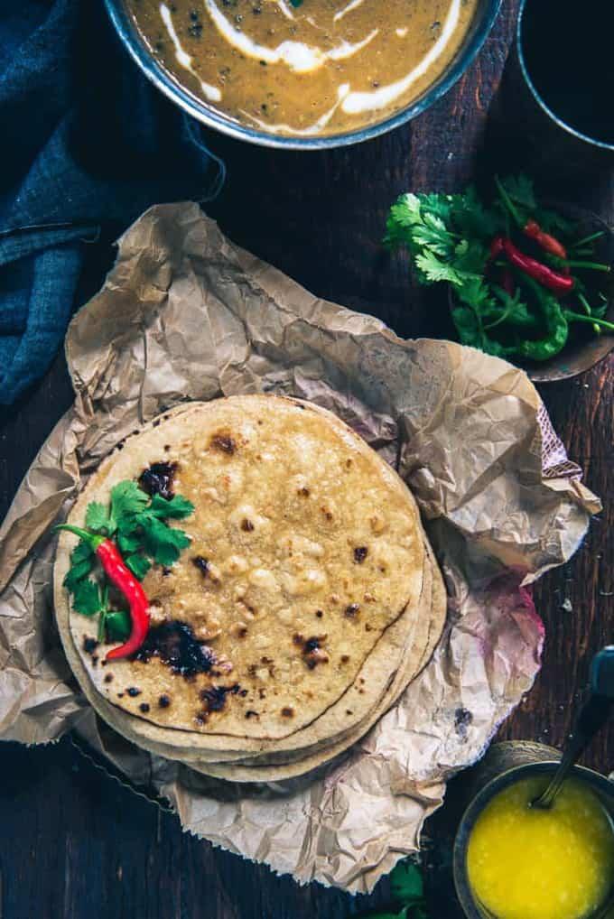 Dupalli Roti Recipe, How to make Dupalli Roti