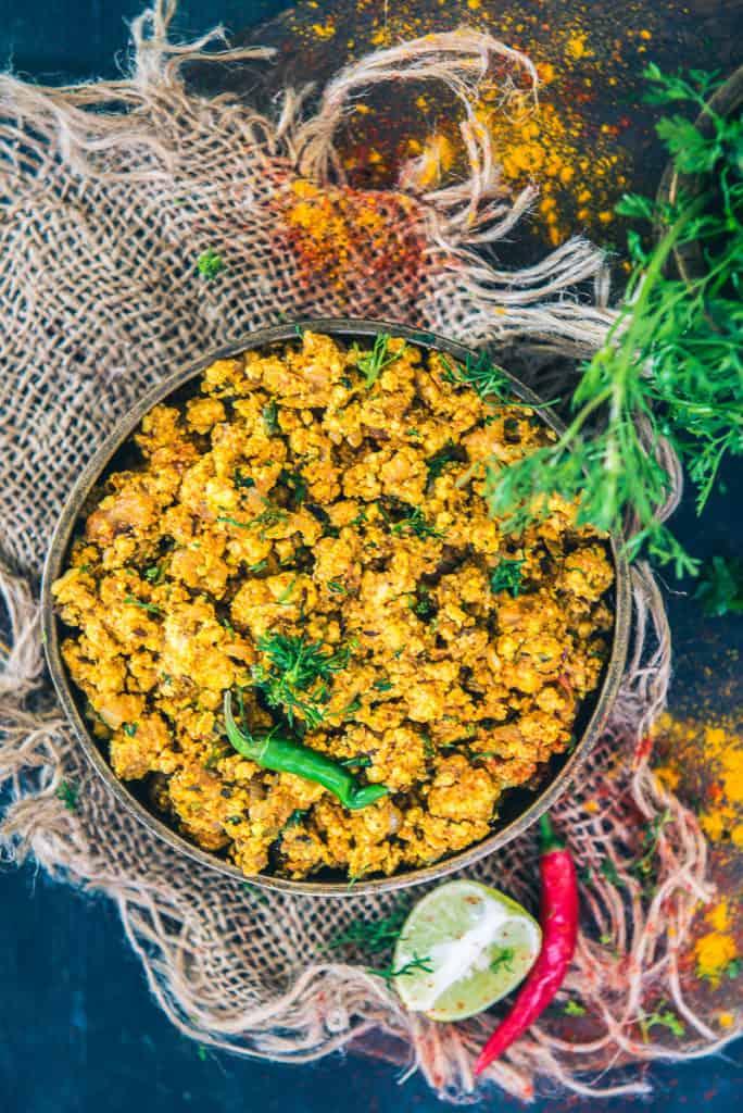 Paneer Bhurji Recipe using Tata Sampann Paneer Masala