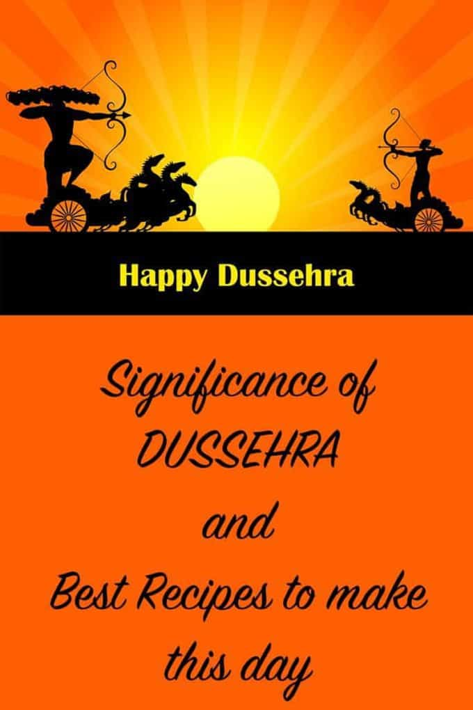 Best Recipes to Make for Dussehra