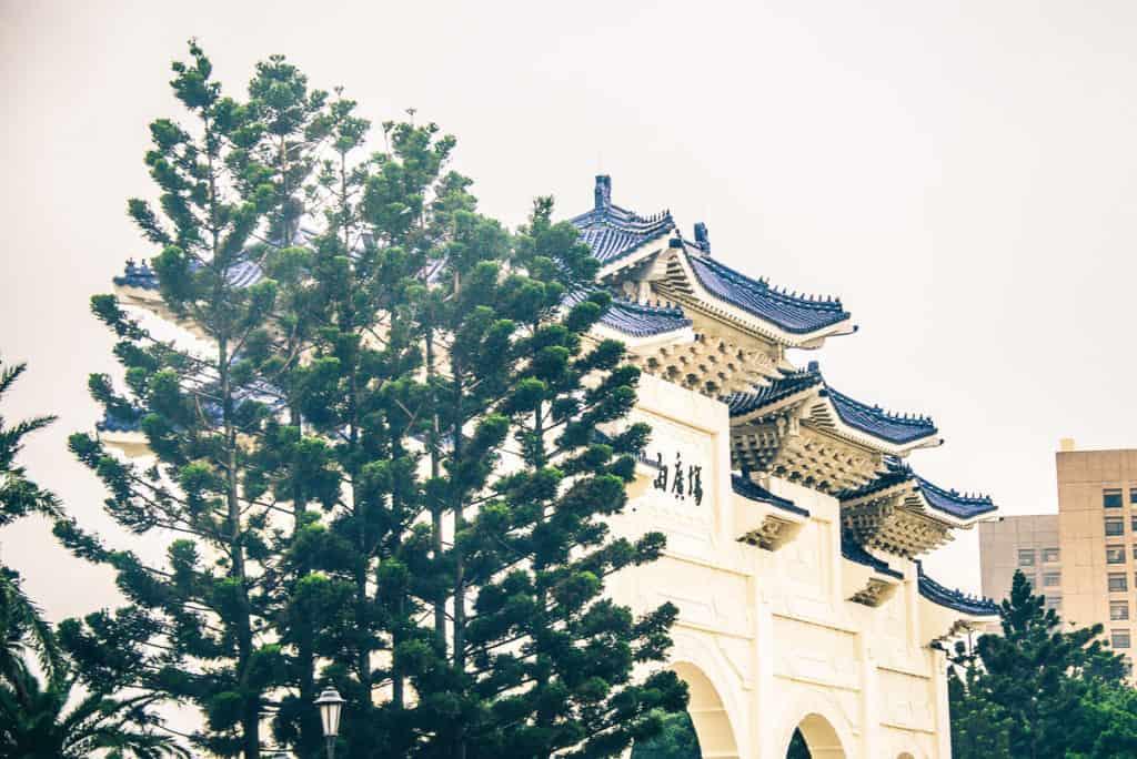 Day 4 in Taiwan - Rainbow Military Housing, Taiwan High Speed Rail, Taipei City Mall, National Memorial hall, Taiwan Travel Blog