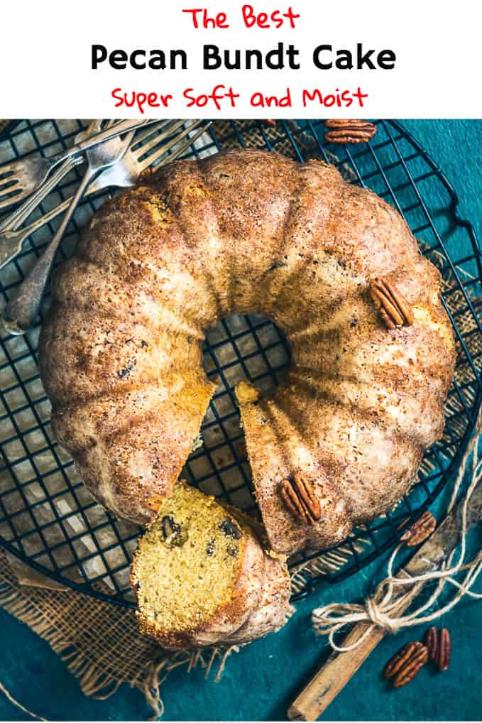 pecan bundt cake is a super delicious cake to make from scratch and it need no