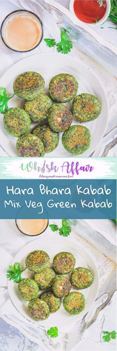 Beautifully rolled up using potatoes, green peas, spinach and a plethora of spices, Hara Bhara Kabab guarantees a wide smile every time you eat it! Here is how to make it. #IndianRecipes #IndianFoodRecipes #IndianAppetiserRecipes ##Appetiser #Appetizer #Vegetarian #VegetarianSnack